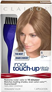 Nice 'n Easy Root Touch-Up, Light Brown 1 ea (Pack of 4)