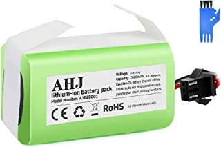 AHJ 14.4V 2600mAh Li-ion Replacement Battery Compatible with Ecovacs Deebot N79S, Deebot N79, Deebot DN622, RoboVac 11S, 11S MAX, RoboVac 15C MAX, RoboVac 30, Cleaning Brush Included