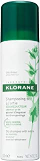 Klorane Dry Shampoo with Nettle for Oily Hair and Scalp, Regulates Oil Production, Paraben & Sulfate-Free