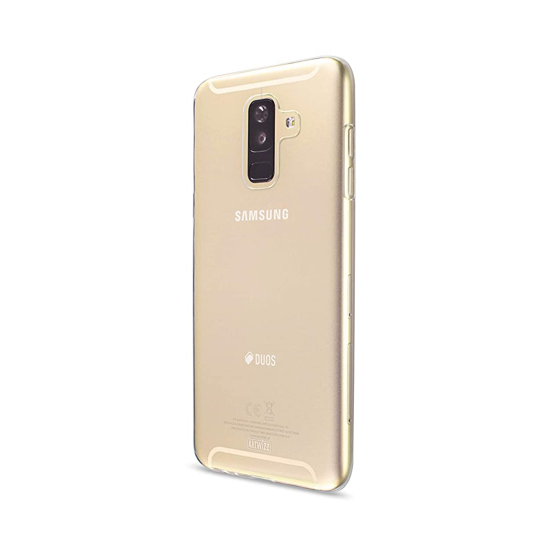 Artwizz NoCase for Samsung Galaxy A6 Plus (2018) - Ultra-Thin Protective Cover - 0.8mm Thickness - Case Made of Durable TPU Material - High UV Resistance - Designed in Berlin Germany - Transparent