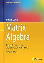 Matrix Algebra: Theory, Computations and Applications in Statistics (Springer Texts in Statistics)