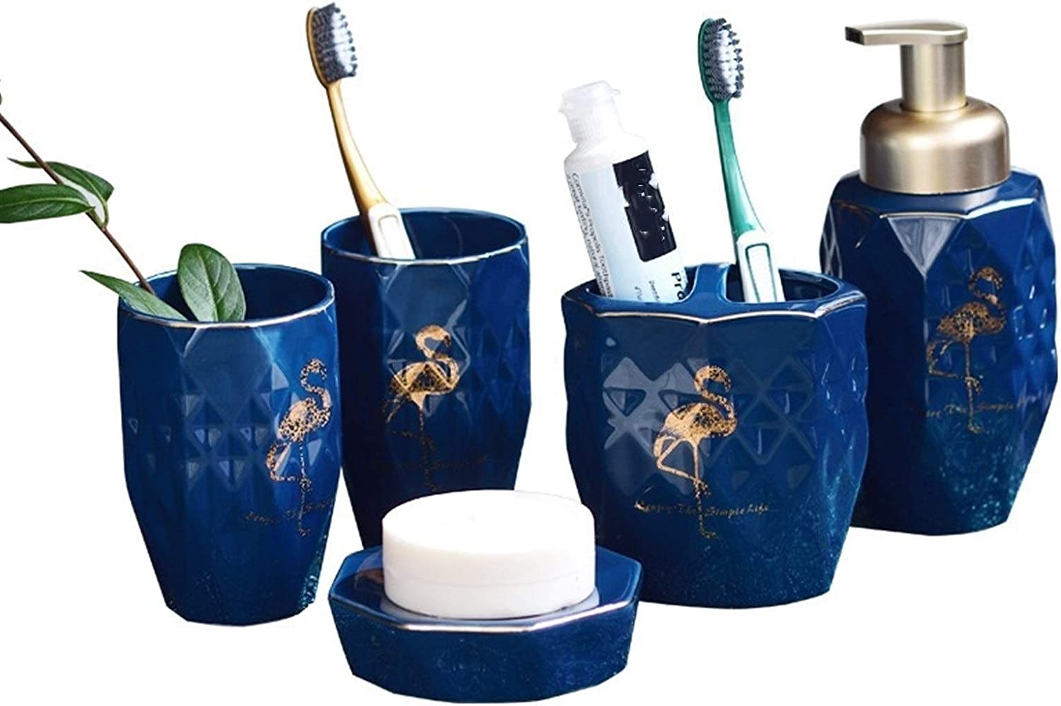 STPUS Max 48% OFF Long Beach Mall Bathroom Accessories Set Cup Toothbrush Creative Household