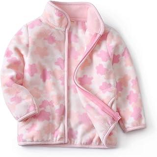 Feidoog Toddler Polar Fleece Jacket HoodedBaby Boys Girls Spring Autumn Long Sleeve Thick Warm Outerwear