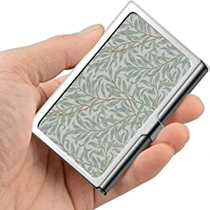 Professional Metal Business Card Willow Bough by William Morris 18341896 Holder Pocket Business Card Case Slim Business Card Carrier Business Card