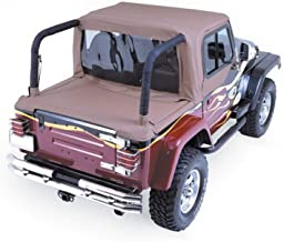 RAMPAGE PRODUCTS 993017 Cab Top for Soft Top Half Door Vehicles Only | Fits 1992-1995 Jeep Wrangler, Spice Denim