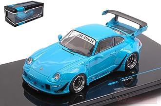 NEW IXO Model MOC211 Porsche RWB 993 Blue 1:43 MODELLINO Die Cast Model