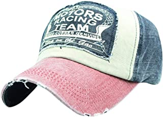 TOTOD Baseball Cap Unisex Couple Shabby Hip Hop Street Style Hats Classic Letter Embroidered Topee