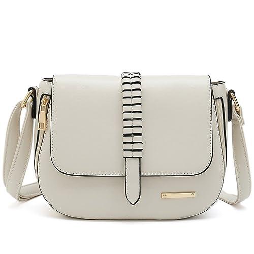 21e613196e0 Designer White Saddle Bag Purses: Amazon.com