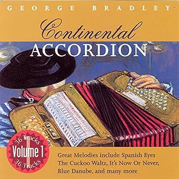 Continental Accordion - Volume 1