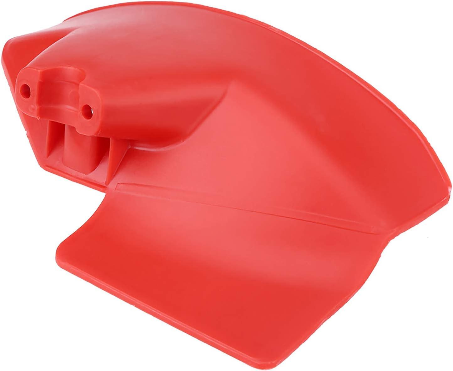 TKSE Accesorio para Cortador de Cepillo, Protector de recortador, Protector de Protector de Cortador de Cepillo de 1 Pieza para 24 26 28 mm de diámetro. Desbrozadora de Eje