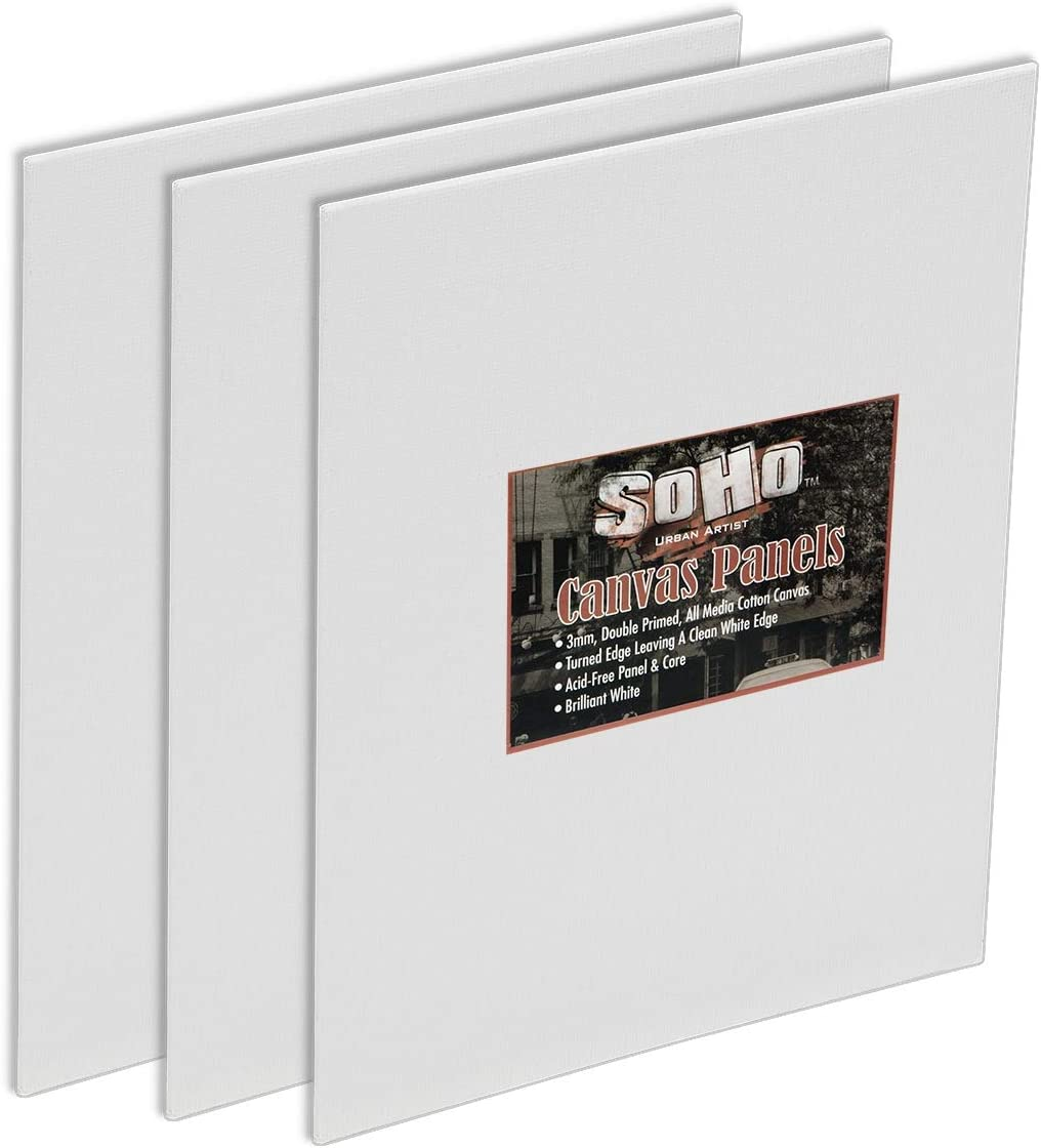 SoHo Urban Artist Canvas Panels for OFFicial store Ounce Primed Double 10 Art shipfree -
