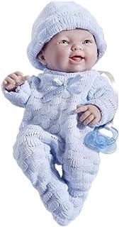 JC TOYS- Muñecos bebé, Color Azul (18452_B)