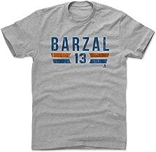 500 LEVEL Mathew Barzal Shirt - New York Hockey Men's Apparel - Mathew Barzal New York I Font