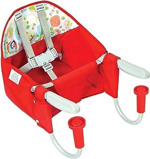 Cadeira De Alimentação Para Mesa Vermelha - Tutti Baby