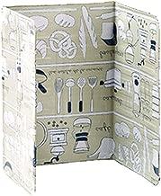 BESTONZON Kitchen Oil Splash Guard Aluminum Foil Gas Stove Shield Oil Splatter Screen Kitchen Tool 84 x 39cm (Green)