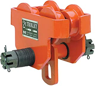 2 Ton Push Beam Trolley Adjustable for I-beam flange width: 4