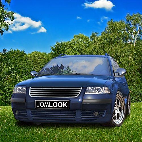 JOM Car Parts & Car Hifi GmbH 3BG853653KOE Kühlergrill ohne Emblem, komplett Chrom