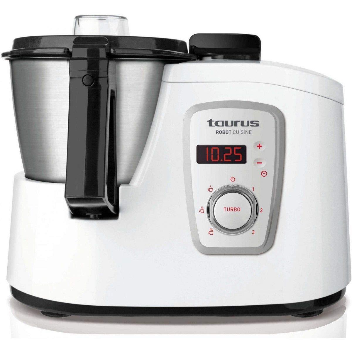 Taurus Robot Cuisine - Robot 925008 de cocina multifunción, color blanco: Amazon.es: Hogar