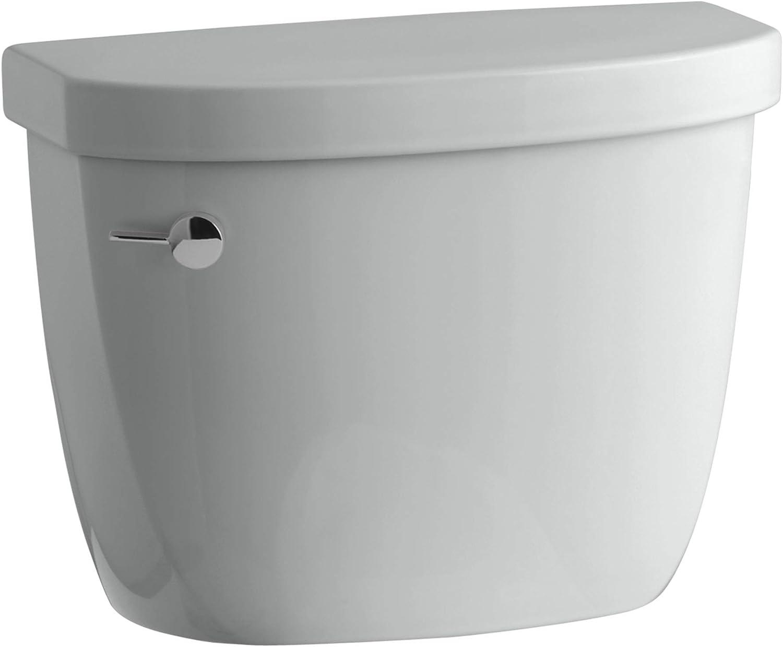 KOHLER K-4418-95 Cimarron SALENEW very popular 1.6 gpf Class Popular standard Toilet Tank Ice Five Gr