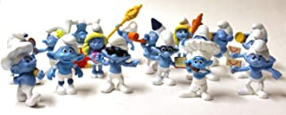 2011 & 2013 McDonald's Smurfs Lot of 14 Happy Meal Toys