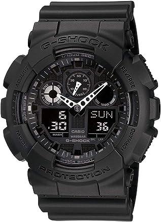 3e5968fa959 Relogio Masculino Casio G-shock Anadigi Ga-100-1a1dr - Preto