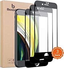 """[3-Pack] Benbilry iPhone SE 2020 Screen Protector, (Specifically for iPhone SE2) [Nano Polymer Materials, Never Breaking] [Full Coverage] HD Clear Halo Free for Apple iPhone SE 2020 4.7"""""""