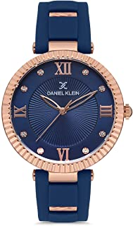Daniel Klein Premium Ladies - Blue Dial Blue Band Watch - DK.1.12646-1