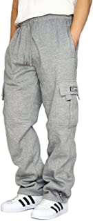 Men's Heavyweight Fleece Cargo Sweatpants