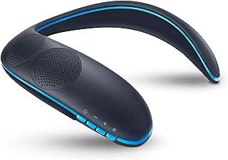 ZoeeTree ネックスピーカー ウェアラブルネックスピーカー Bluetooth スピーカー ワイヤレススピーカー 3Dサウンド 首掛け 肩掛け 軽量 内蔵マイク ハンズフリー通話 テレビ/映画/音楽/ゲームに適用