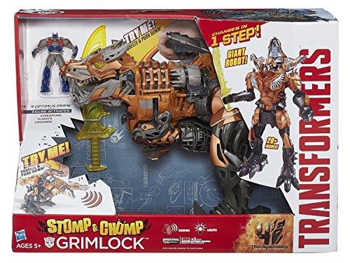 Transformers Movie 4: Mega Hero Stomp 'n' Chomp Grimlock