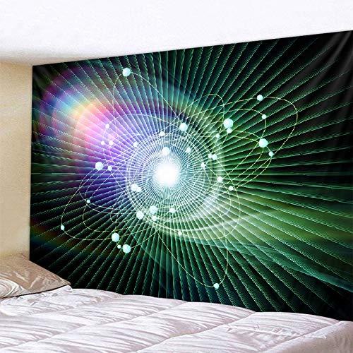 KHKJ Universo Estrellado Espacio Aurora Tapiz Dormitorio decoración de la Pared paño de Pared Impreso Exclusivo A7 200x180cm