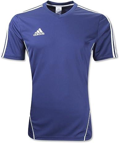 Amazon.com: adidas New Men's Estro 12 Soccer Jersey New Navy/White ...