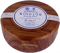 D.R.Harris & Co Windsor Mahogany Effect Shaving Bowl & Shaving Soap