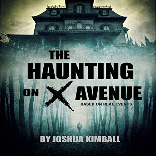 The Haunting on X Avenue audiobook cover art