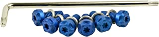 Two Brothers Racing M Series Exhaust Torx 6 PC Bolt Kit Blue