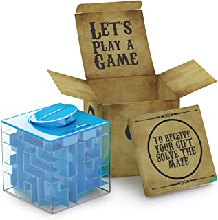 aGreatLife Money Maze Puzzle Box | Unique Money Storage - with a Well Crafted Package | A Box Full of Surprises ! More Fun...