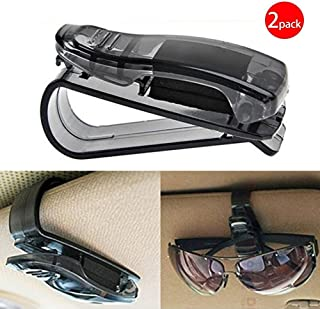 Black Friday Deals Week Auto Car Sun Car Visor Glasses Sunglasses Ticket Clip Holder Eyeglasses Clip Car Holder Cash Money Card Holder(One Package Two Pcs)