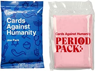 Cards against Humanity Jew and Period Packs