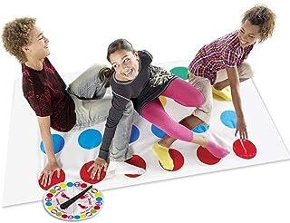 LOVEXIU Juego de Piso Familiar Tapete de Juego Tornado Tapete, Juegos de Mesa, Divertidos Juegos de Habilidad para niños y...