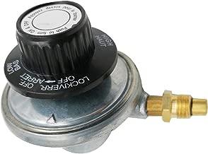 MENSI Low Pressure One Pound Propane Tank Gas Regulator Valve Adjustable Regulate Control Valves Kit with 1