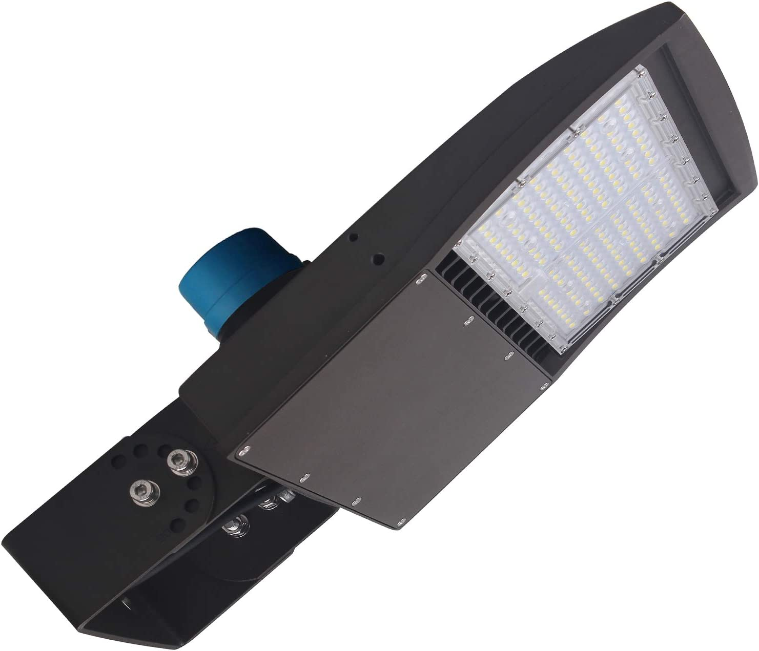 Max 42% OFF 100W Max 76% OFF LED Shoebox Parking Lot Pole to Lights Photocell Dusk Dawn