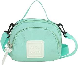 Elonglin Women's Casual Fashion Handbag Canvas Totes Small Bags Shoulder Bag Hobo Bags Cross-Body Bags Green