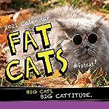 2021 Fat Cats Wall Calendar: Big Cats. Big Cattitude.