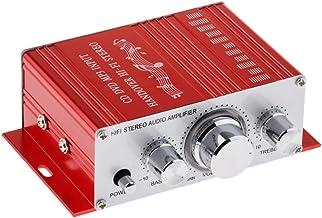 Gazechimp Amplificador De Audio Esté Mini Hi-Fi Amplificador Digital Profesional para Altavoces Caseros