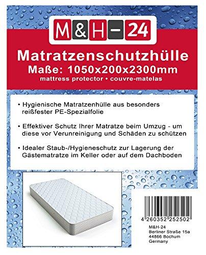 M&H-24 Matratzenschutzhülle, hygienische Schutzhülle für...