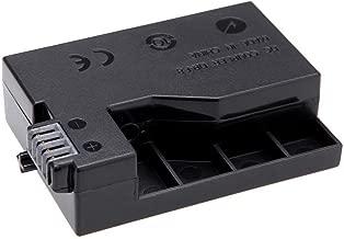 Coolbuy112 DR-E8 DC Couple for Canon EOS 550D,700D,T2,T3,T4,T5,kiss X6,X7 Camera AC Adapter (LP-E8 Battery Replacement)
