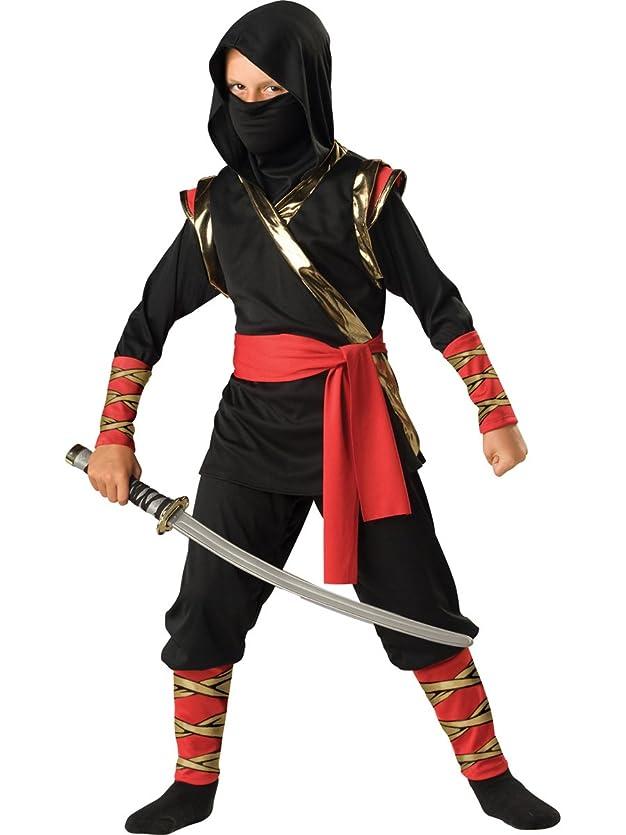 リラックスした哺乳類委任Ninja Child Costume 忍者チャイルドコスチューム?ハロウィン?サイズ:6