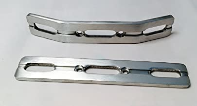 RC Raven Revo 2.5 or 3.3 E-Revo Brushed Aluminum Bumper Set Free Set of Dual Rate Springs