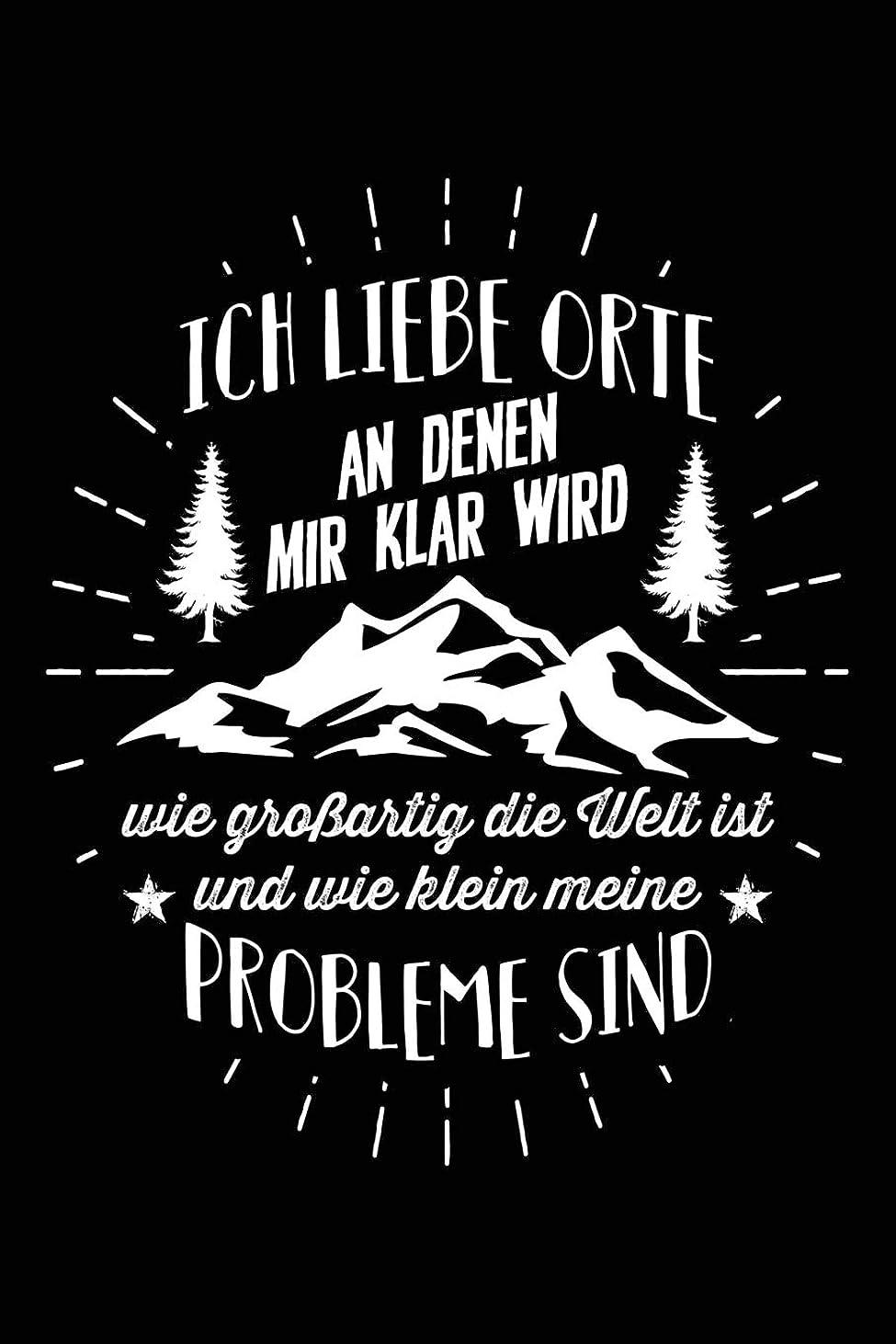 要塞メールを書くファイアルLiebe Inspirierende Orte: Notizbuch fuer Wandern Berg-Wandern Bergsteigen Klettern Outdoor Trekking Camping
