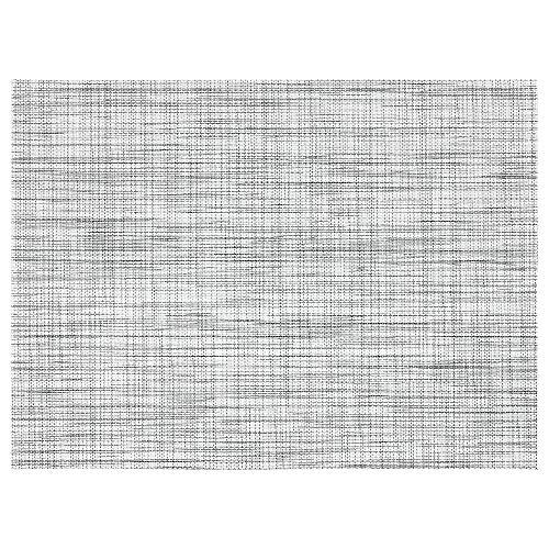 IKEA 003.981.99 Snobbig - Mantel individual, color blanco y negro